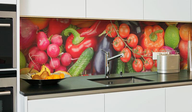 Küchenrückwand aus Glas - Küchenrückwände-Glas - DIY-Glas